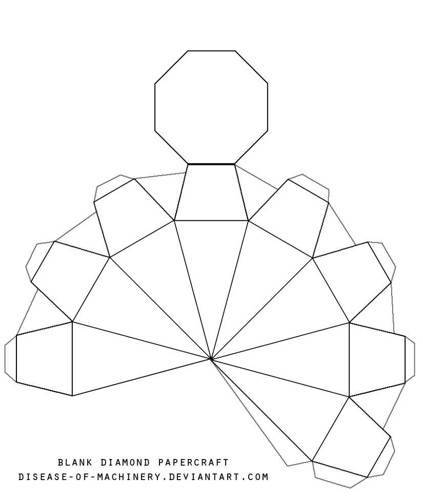 blank diamond template by Disease-of-Machinery