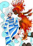 Jacky Frost and Lil Miss Summer