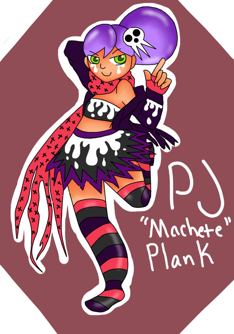 Soul Eater OC: PJ Plank by jazzy2cool