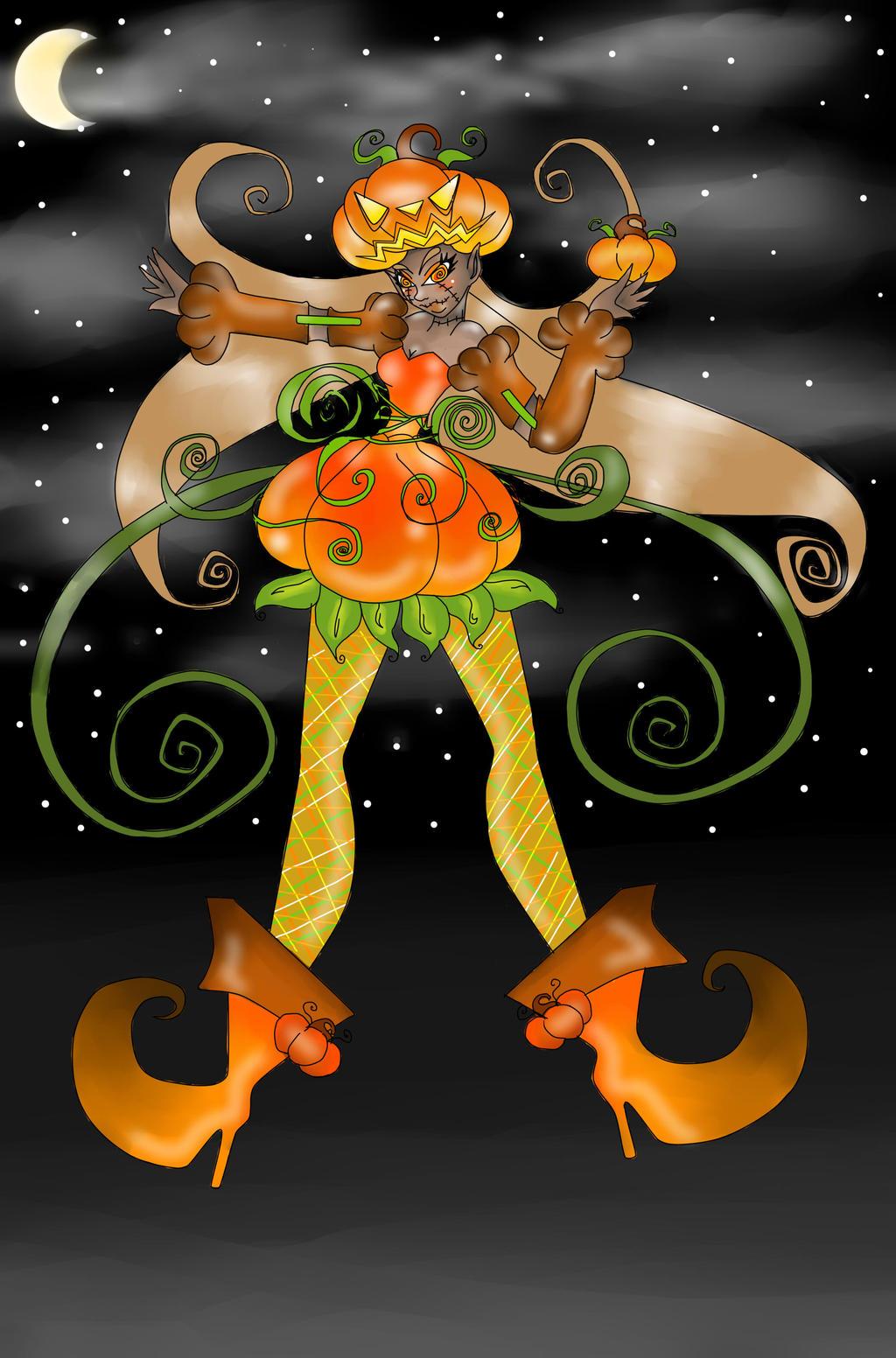 Pumpkin Queen (team pumpkin) by jazzy2cool