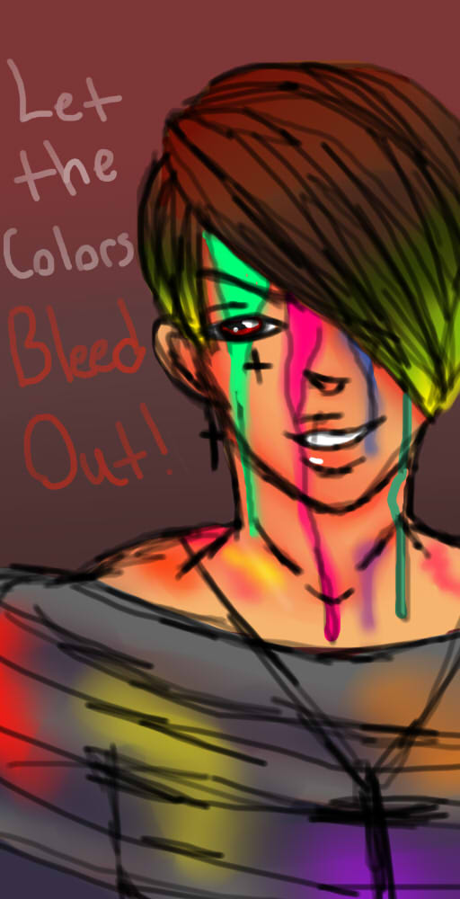 Bleeding Rainbows? by BrownieTheif