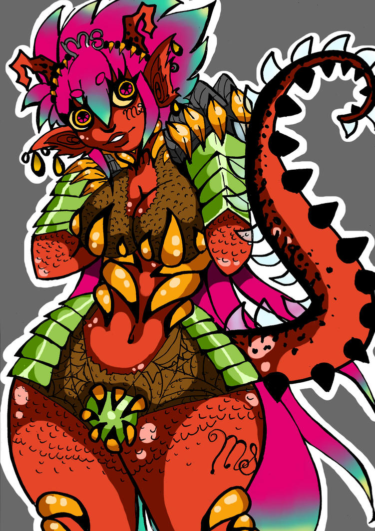 Monster girl by jazzy2cool