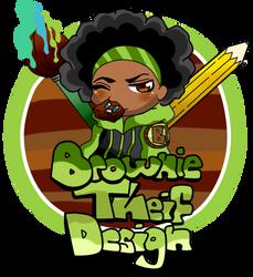 Alternate Brownie Theif Logo