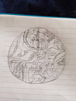 Segagon surface sketch/doodle 2#