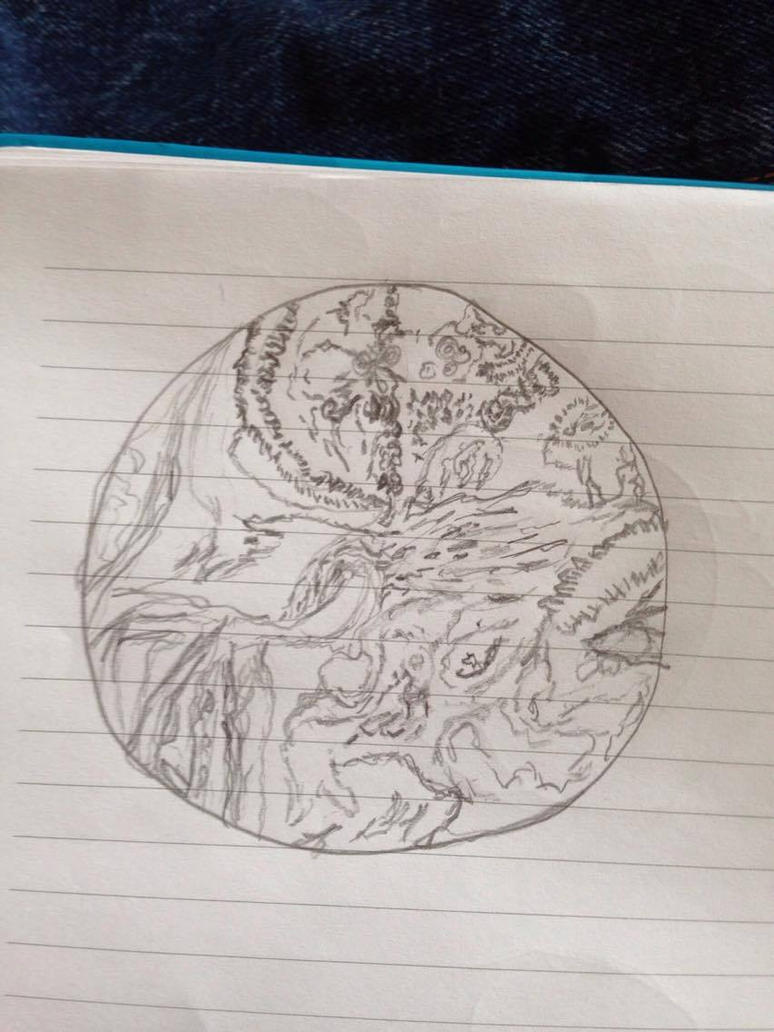 Segagon surface sketch/doodle 2# by luka1184