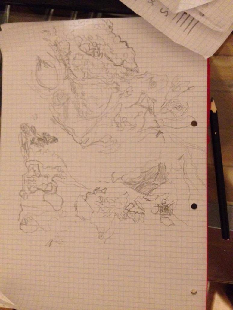 Segagon surface sketch/doodle 4# by luka1184