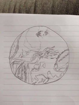 Segagon surface sketch/doodle 5#