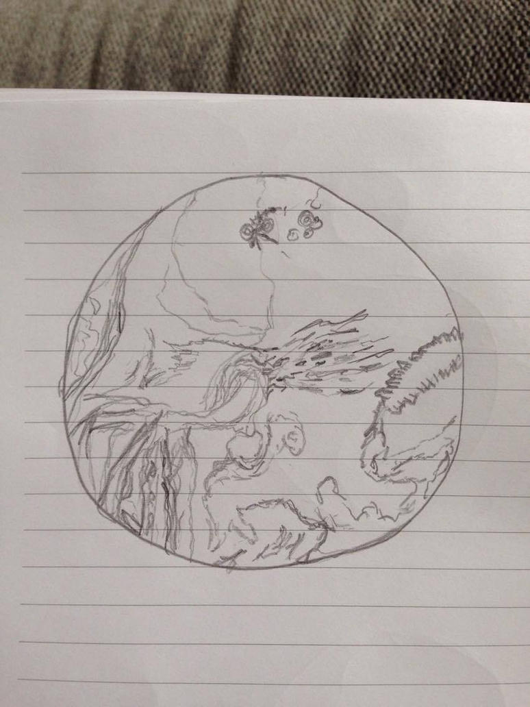 Segagon surface sketch/doodle 5# by luka1184