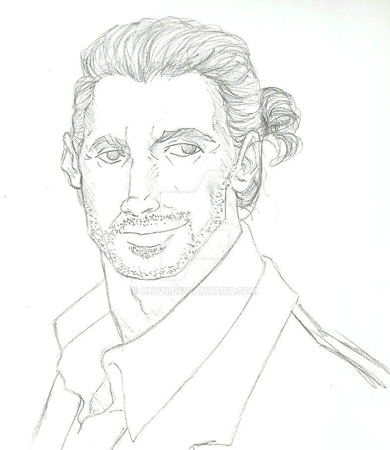 Theodore portrait by Knyn