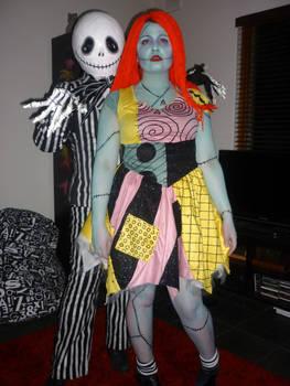 Halloween 2011: Jack and Sally