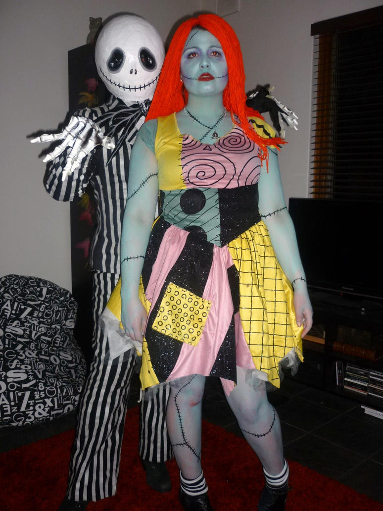 a clever couples costume that allows you to lightly celebrate your dark side yet does not require wearing - Halloween Jack Costume