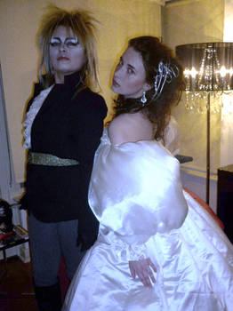 Halloween 2010: Jareth + Sarah