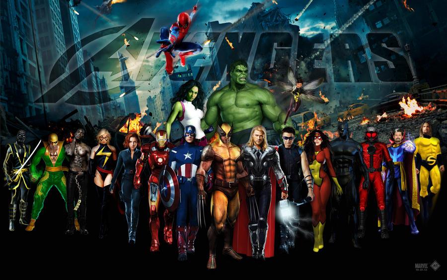 wallpaper avengers 2