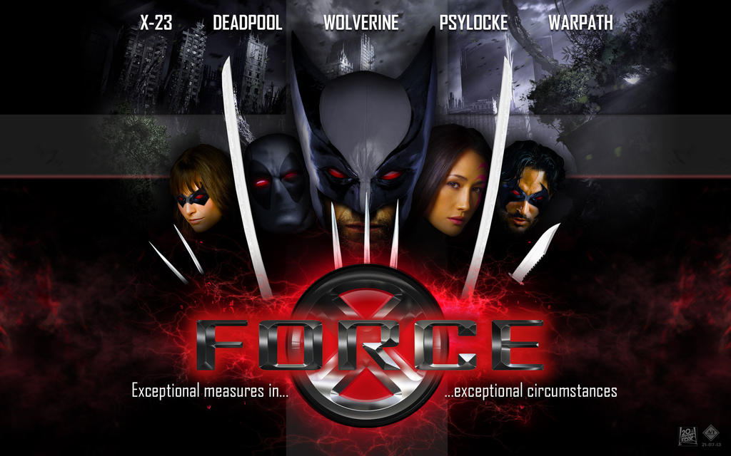 X Force Movie Wallpaper By Lesajt On Deviantart