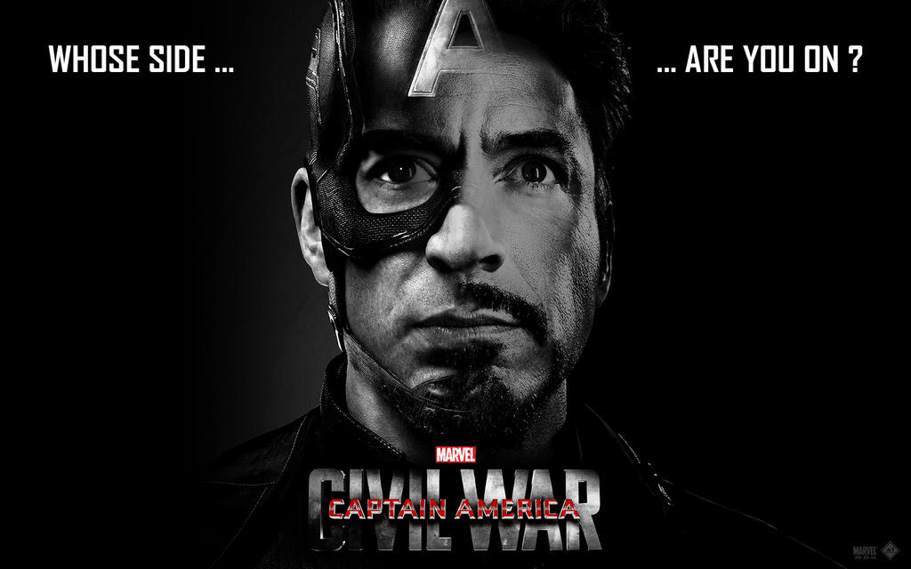 Captain America - Civil War Wallpaper by lesajt