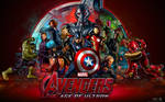 Avengers Age of Ultron Movie Wallpaper 2015