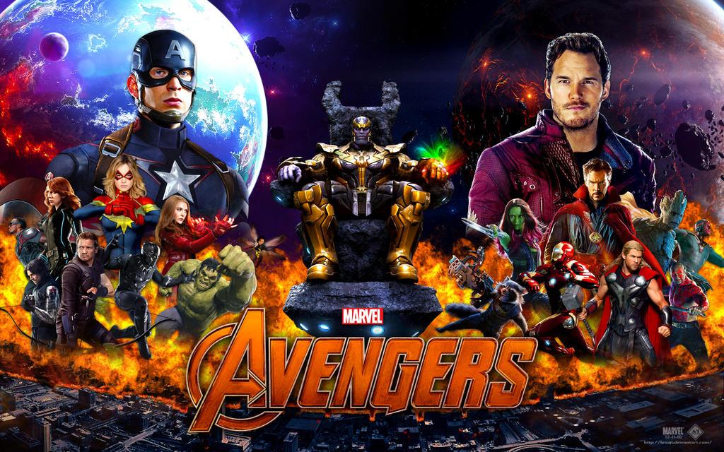 Avengers Infinity War Wallpaper V 1 By Lesajt On Deviantart