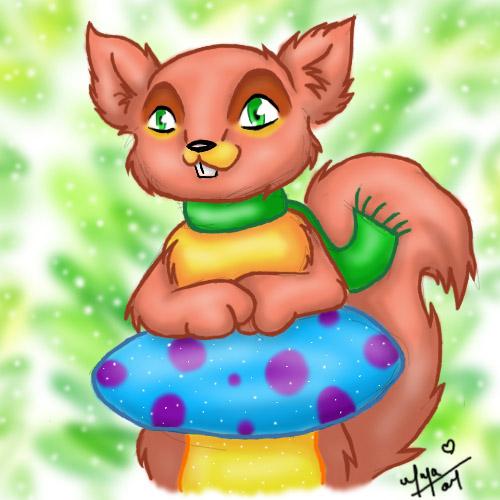 Cute Squirrel by vervex
