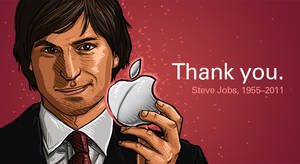 Thank you Steve Jobs by vervex