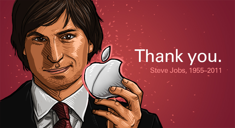 Thank you Steve Jobs by vervex