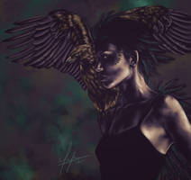 Eagle Girl by vervex