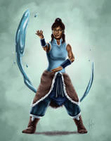 The Legend of Korra by vervex