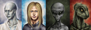 Extraterrestrial potraits by vervex