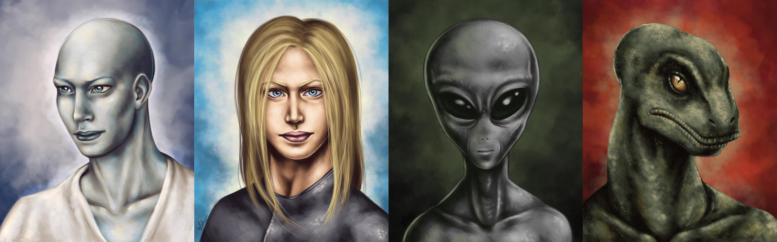 Extraterrestrial potraits by vervex