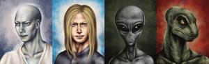 Extraterrestrial potraits
