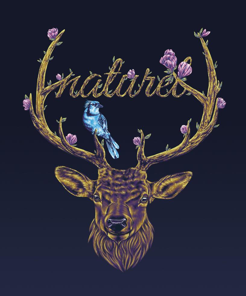 Naturel - The Elk by vervex