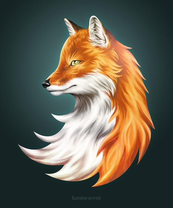 Magic Fox by vervex