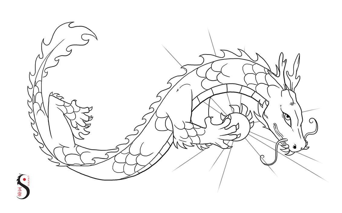 Dragon - Kung Fu Wuchang by vervex