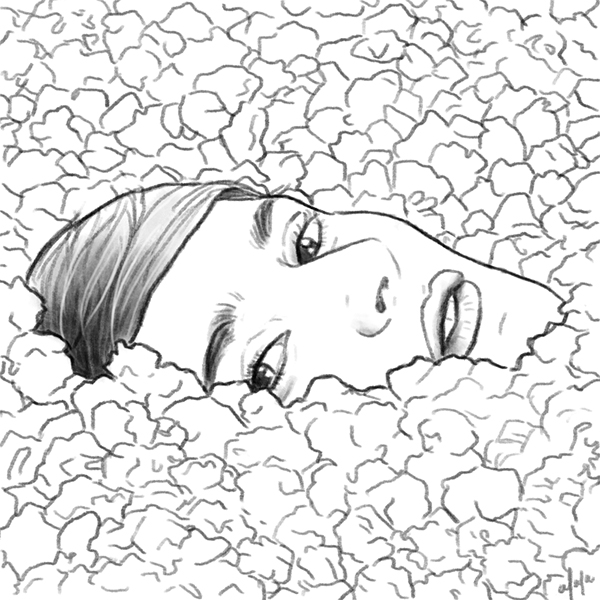 Yelle Sketch by vervex