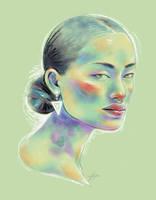 Rainbow Girl XIX by vervex