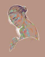 Rainbow Girl XX by vervex