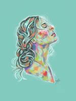 Rainbow Girl XXI by vervex