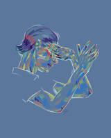 Rainbow Girl XXIV by vervex