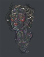Rainbow Girl XXVI by vervex