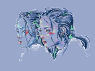 Rainbow Girls XXXII by vervex