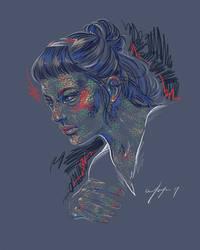Rainbow Girl XXXVII by vervex
