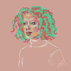 Rainbow Girl XXXVI by vervex
