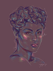 Rainbow Girl XL by vervex