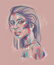 Rainbow Girl XLI by vervex