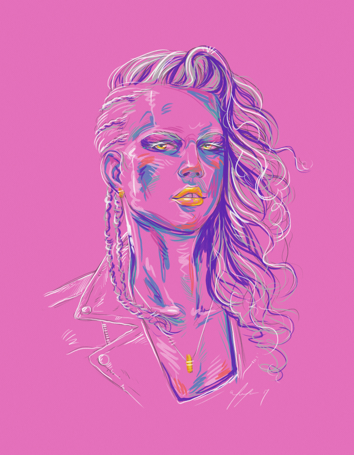 Rainbow Girl XLII by vervex