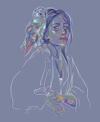 Rainbow Girl XLIV by vervex