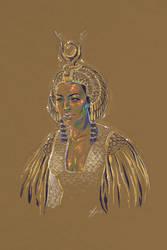 Rainbow Girl XLVI - Cleopatra by vervex