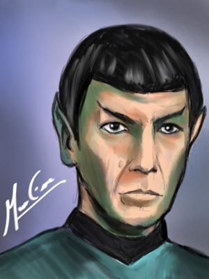 Spock by TOTOTEWEAMPON