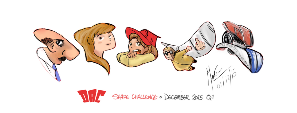 Shape Challenge   December 2015 Q1 By Puddlefisher by TOTOTEWEAMPON