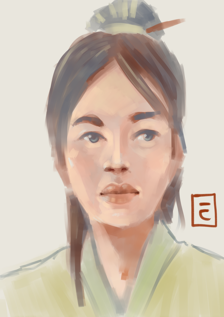 Practice 03  Asian Girl by TOTOTEWEAMPON