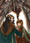 Bagginshield (Fem!Bilbo) :: A Royal Wedding